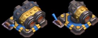 大砲のレベル17